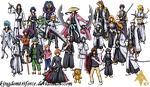 Bleach Sprite Group by ShinySeabass