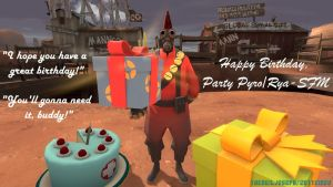[Birthday Gift]Party Pyro by 2K11CiNCo