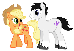Willow and AJ by partiallyBatty
