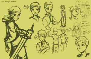 Albert Remongs Sketches by AlbertRemong