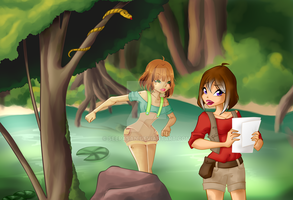 Open Collab  Swamp Lesson from Saku28 by SeeraSan