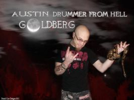 Drummer From Hell 2011 by dancarrtoonist