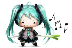 .Squishies: Vocaloid - Miku. by Tirael