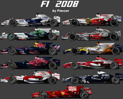 F1 2008 carset by pieczaro