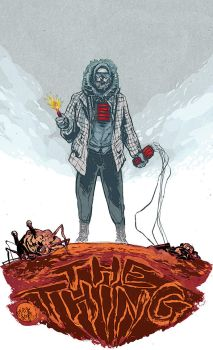 THE THING by mysteryming