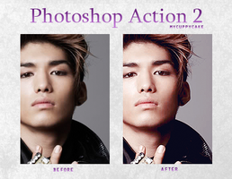 Photoshop Action 2 by MyCuppyCake