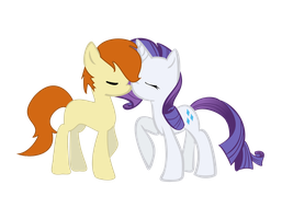 Fry/Rarity - My First Vector! by Psalmie