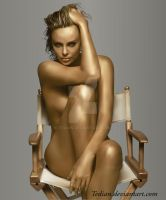 Charlize-Theron by tedian