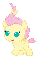 Baby Fluttershy by MarianHawke