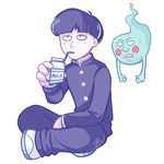 Mob and Dimple by MystSaphyr