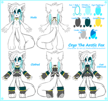 [Reference] Cryo The Arctic Fox 2014 by ValentineBites