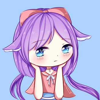 [OC] Resting by Lily-Cookie