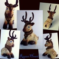 RogueHeart Unfelted by customlpvalley