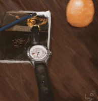 Table Speedpainting - 35 min by Iceey23