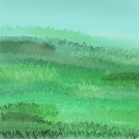 Grass [tablet practice] by pharlyn
