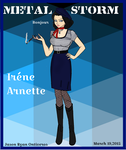 Re: METAL STORM: Irene Arnette by fORCEMATION