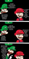 Annoying Luigi by Bimmling