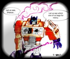 Optimus Prime never gives up by Byrdman-08