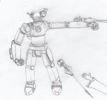 Laser Robot by Imperator-Zor