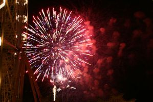 Fireworks Stock 49 by Malleni-Stock