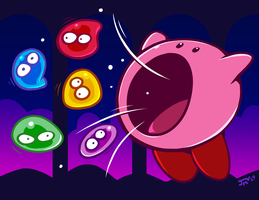Kirby's Avalanche by Kaigetsudo