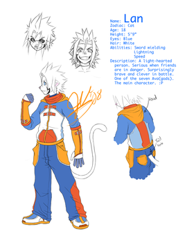 Lan's 3rd Outfit Ref Sheet by silverava