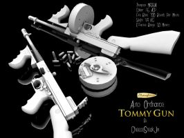 "Thompson M1928A1 ""Tommy Gun"" by CheeseSteakJim"