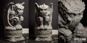 Cthulhu Idol by Kilh
