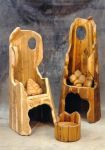 King and Queen chairs by bango