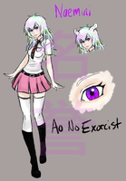 Naemini Ref: AO NO EXORCIST OC by AnotherDyingBreed