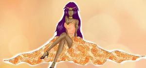 -Yoruichi by teodoralovesteo