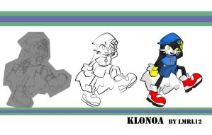 klonoa - from sketch to Color by lmrl12