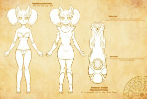 141126 - Character Design Concept: Telethia by ScorpDK