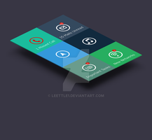 Mobile Screen App by Leettle1