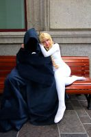 Cloak and Dagger cuddle by SuspiciousTumbleweed