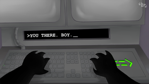 YOU THERE. BOY._ by SDevilHeart