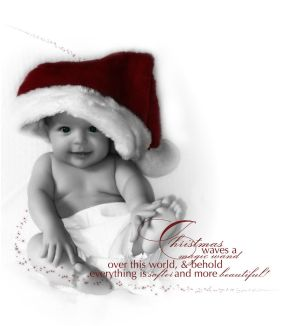 Card A Beautiful Christmas by DigitalPhenom