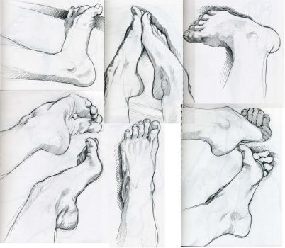 some feet by nk-chan