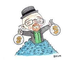 MONEY BAGS WALTER by bubbleduck