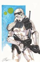 Sandtrooper by Hodges-Art