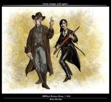 Texas Ranger and Agent by randolfo
