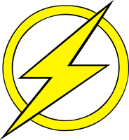 Kid Flash logo Fill by mr-droy