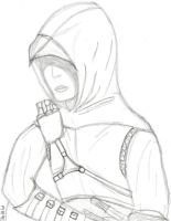 Altair Ibn-La'Ahad Sketch by thisIsnoEcho
