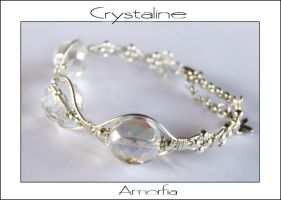 Crystaline by amorfia