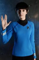 Spock cosplay by TrishaLayons