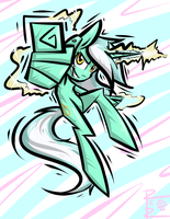 Lyra learned a new spell by RCR-Lemontwist