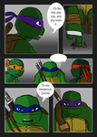 Splinter in Time: Page One Colored by YAYProductions