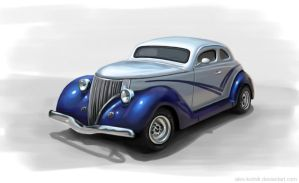 Classic Car by ales-kotnik