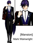 [MMD project. Mansion] Mark Wainwright by ArisuIdzuri
