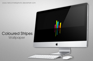 Coloured Stripes Wallpaper by neilconnellyphoto